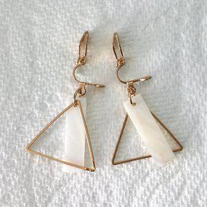 Geometric Clip-On Earrings